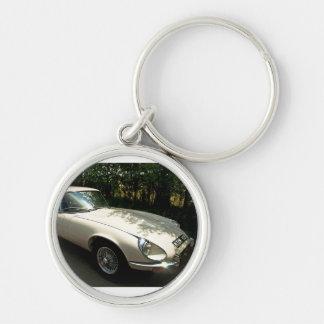 E-Type Jaguar Key Chain