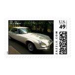 E-Type Jaguar Stamp
