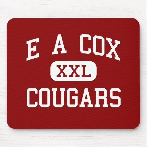 E un $cox - pumas - centro - Columbia Tennessee Tapetes De Ratones