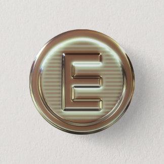 E - Vegan letters 2/5 Button