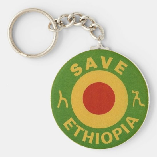 E.W.F. INC. SAVE ETHIOPIA - KEY CHAIN