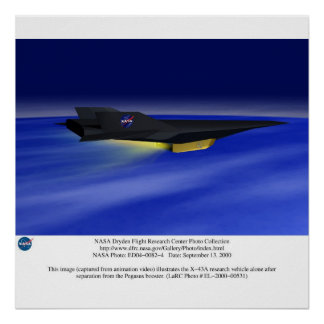 EA43 Scram Jet Poster