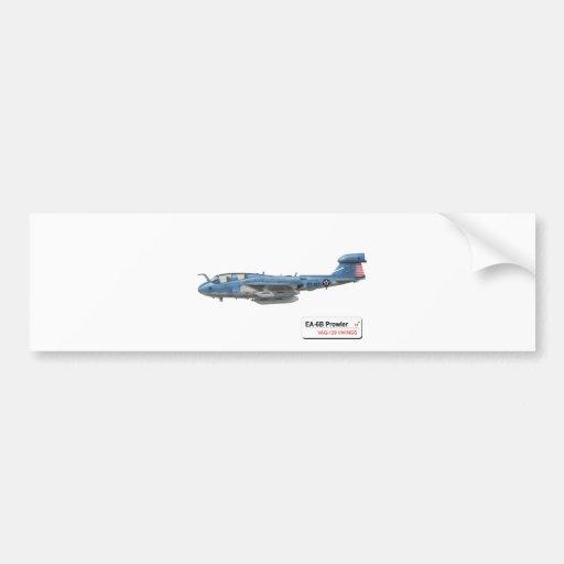 """EA-6B """"merodeador """" Pegatina Para Auto"""