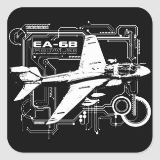 EA-6B Prowler Square Sticker