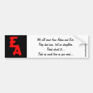 EA Bumper Sticker 03