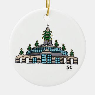 EA Christmas Chapel Ornament