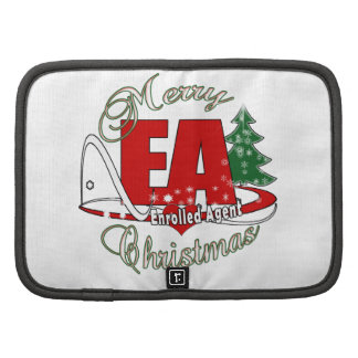 EA CHRISTMAS  Enrolled Agent Folio Planners