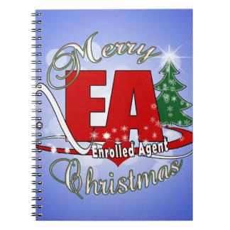EA CHRISTMAS  Enrolled Agent Notebook