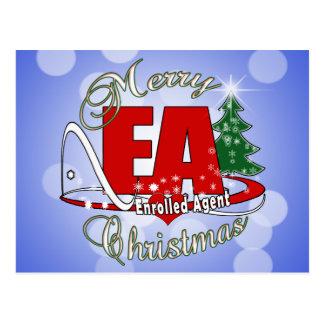 EA CHRISTMAS  Enrolled Agent Postcard