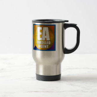 EA LOGO ENROLLED AGENT TRAVEL MUG