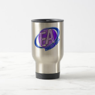 EA ORB SWOOSH LOGO - ENROLLED AGENT TRAVEL MUG