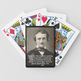 EA Poe 1 Bicycle Playing Cards