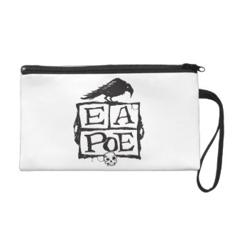 EA Poe Boxes Clutch Wristlet