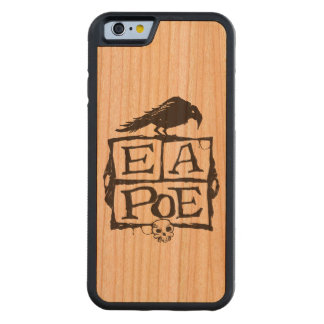 EA Poe Boxes Wood Smartphone Case Carved® Cherry iPhone 6 Bumper Case