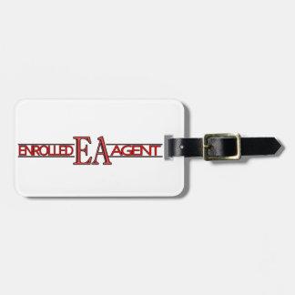 EA SPECIALIST LOGO ENROLLED AGENT BAG TAG