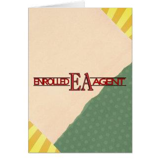 EA SPECIALIST LOGO ENROLLED AGENT CARD