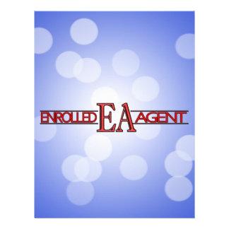 EA SPECIALIST LOGO ENROLLED AGENT LETTERHEAD