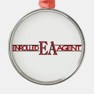 EA SPECIALIST LOGO ENROLLED AGENT METAL ORNAMENT