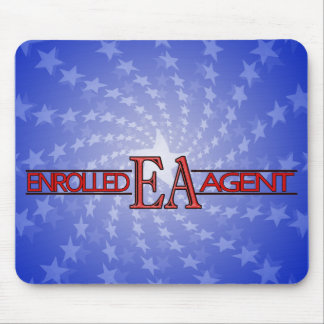 EA SPECIALIST LOGO ENROLLED AGENT MOUSEPADS