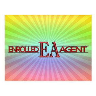 EA SPECIALIST LOGO ENROLLED AGENT POSTCARD
