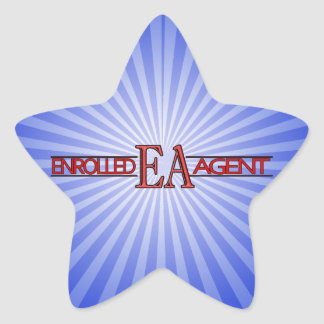 EA SPECIALIST LOGO ENROLLED AGENT STAR STICKER