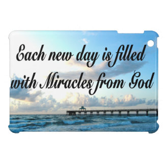 EACH DAY IS A MIRACLE FROM GOD iPad MINI COVERS
