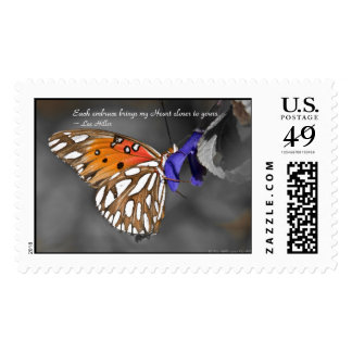 Each embrace brings my Heart... USPS Stamps