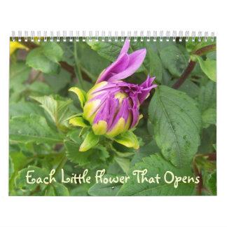 Each Little Flower That Opens Calendar