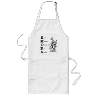 each moment chosen for his service apron