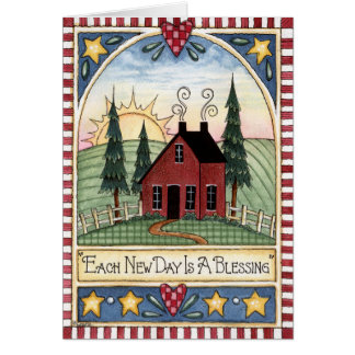 Each New Day Greeting Card