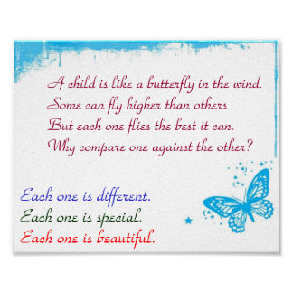 """Each One Is Beatiful 8"""" x 10"""" poster"""