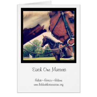 Each one matters notecards cards