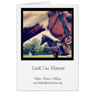 Each One Matters notecards Greeting Cards