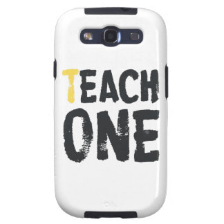 Each one Teach one Samsung Galaxy SIII Covers