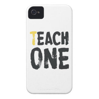 Each one Teach one iPhone 4 Case-Mate Case