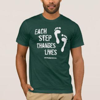 Each Step Changes Lives T-Shirt