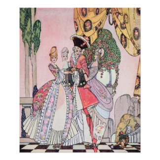Each was Delicious by Kay Nielsen Poster