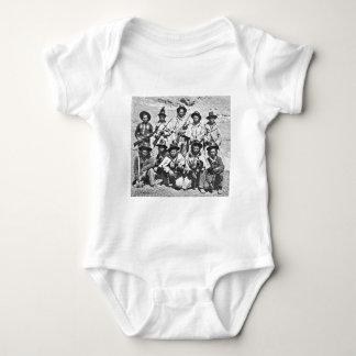 Eadweard J. Muybridge image of Modoc Indians Baby Bodysuit