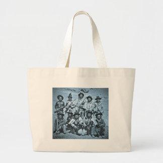 Eadweard J. Muybridge image of Modoc Indians Large Tote Bag