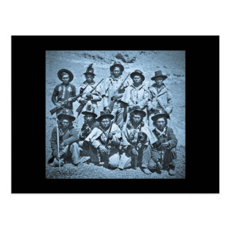 Eadweard J. Muybridge image of Modoc Indians Postcard