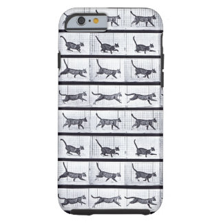 EADWEARD MUYBRIDGE: Cat Galloping - Tough iphone 6 Tough iPhone 6 Case