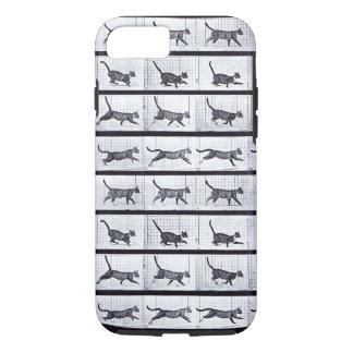 EADWEARD MUYBRIDGE: Cat Galloping - Tough iPhone 7 iPhone 8/7 Case