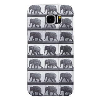 EADWEARD MUYBRIDGE: Elephant Walk - Galaxy 6 Case