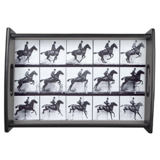 EADWEARD MUYBRIDGE: Horse Daisy Jumping-Small Tray