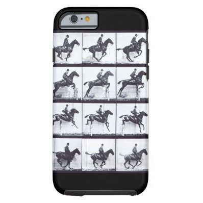 EADWEARD MUYBRIDGE: Horse Jumping - Tough iphone 6 Tough iPhone 6 Case