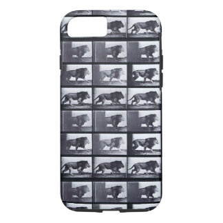 EADWEARD MUYBRIDGE: Lion Walking - Tough iPhone 7 iPhone 8/7 Case