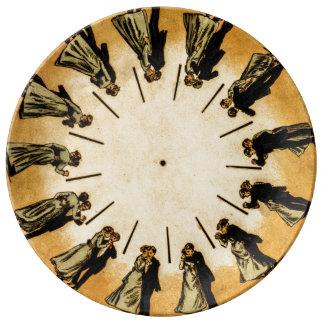 Eadweard Muybridge's phenakistoscope, 1893 Plate