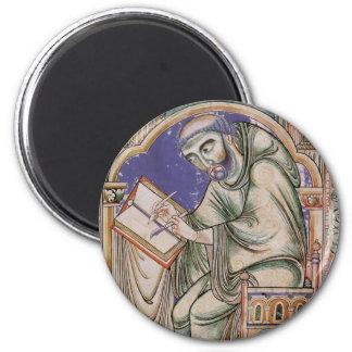 Eadwine the Monk 2 Inch Round Magnet
