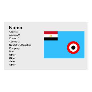 Eaf, Egipto Plantilla De Tarjeta Personal