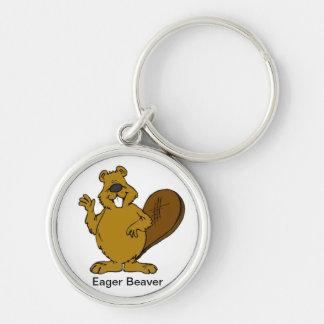 Eager Beaver Keychain